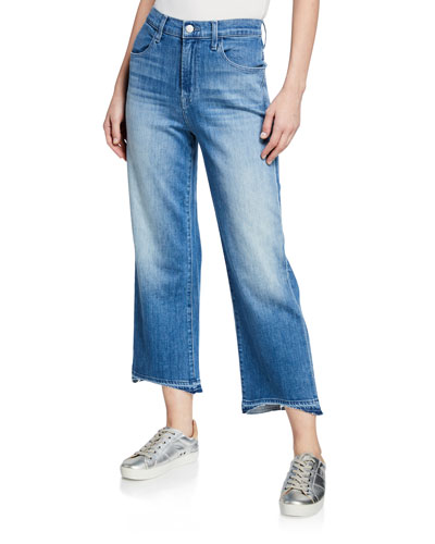 Joan High-Rise Wide-Leg Cropped Jeans