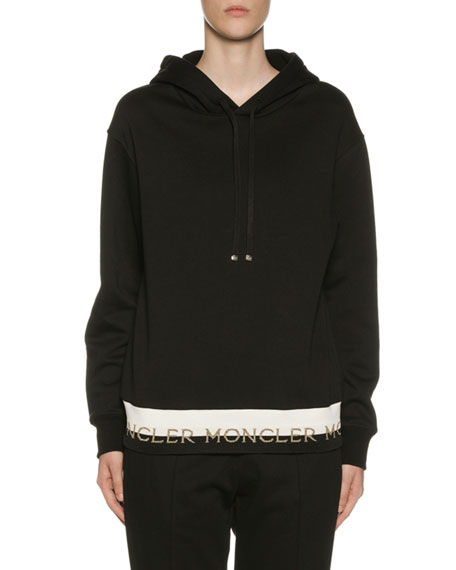 Moncler Banded Logo Pullover Hoodie