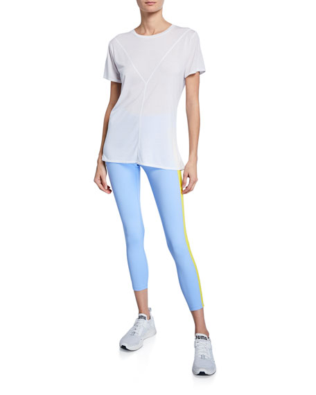 Tory Sport Colorblock 7/8 Active Leggings