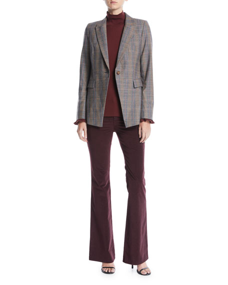 Lafayette 148 New York Mercer Curated Corduroy Flared Pants