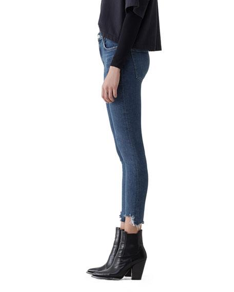 AGOLDE Sophie Step-Hem Skinny Jeans