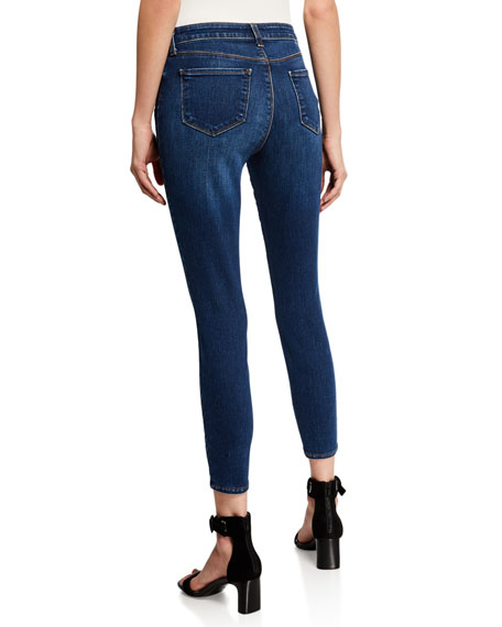 L'Agence Margot High-Rise Skinny Ankle Jeans, Tuscan