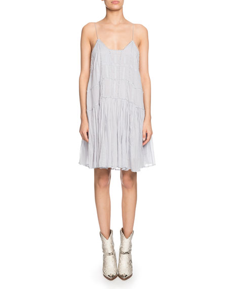 Etoile Isabel Marant Amelie Embroidered Shift Dress