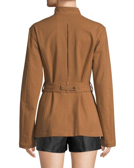 A.L.C. Milo Belted Button-Front Jacket