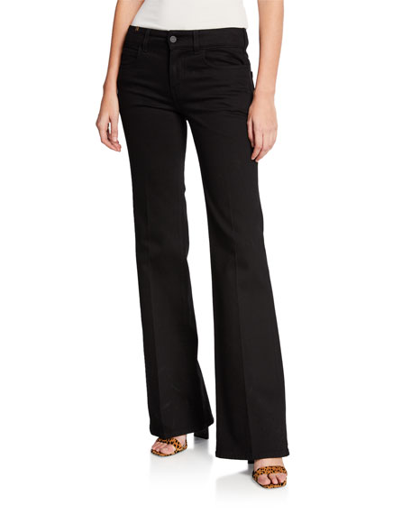 Atelier Notify Dahlia High-Rise Flared Jeans