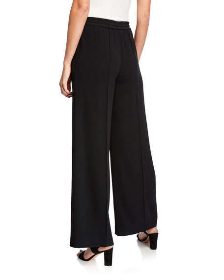 Aspesi Pleated Wide-Leg Trousers with Side Pockets
