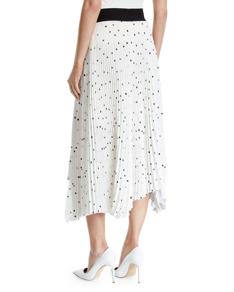 A.L.C. Grainger Pleated Skirt