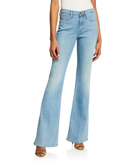 FRAME Le High Flare-Leg Jeans