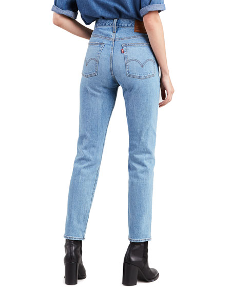 Levi's Premium Wedgie Icon Fit Mid-Rise Straight-Leg Jeans