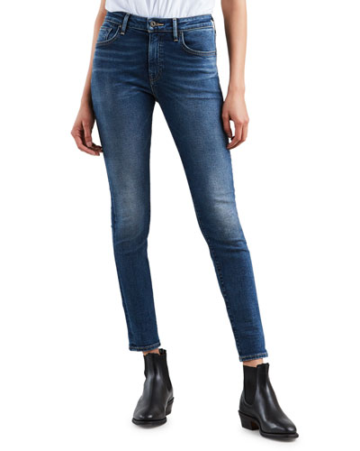 721 Mid-Rise Ankle Skinny Jeans