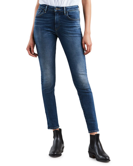 Levi's Made & Crafted 721 Mid-Rise Ankle Skinny Jeans