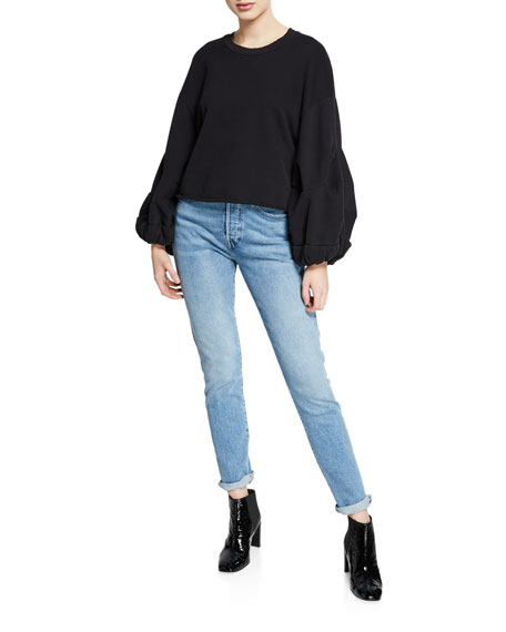 Levi's Made & Crafted 501 Mid-Rise Stretch Skinny Jeans