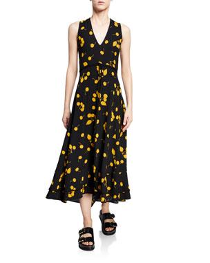 0dba90353714 3.1 Phillip Lim Cherry-Print Sleeveless Maxi Dress