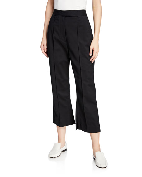 3.1 Phillip Lim Cropped Side-Slit Tailored Pants