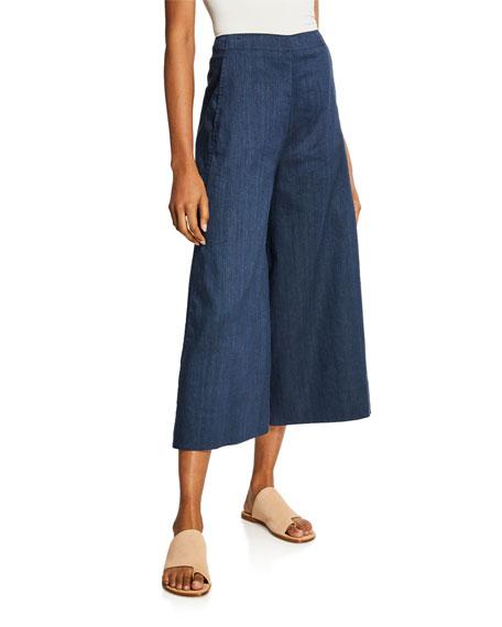 Vince High-rise Flare-Leg Culottes
