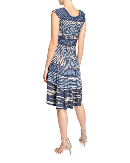 NIC+ZOE Mesmerize Cap-Sleeve Twirl Dress