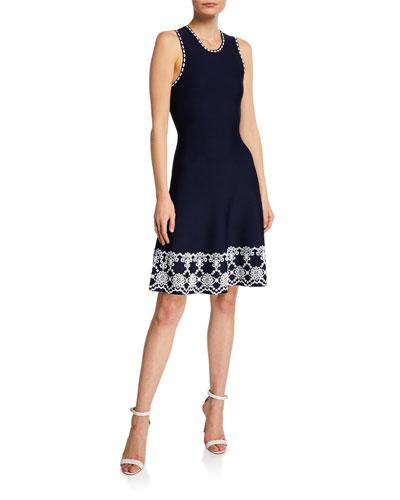 Caterina Sleeveless A-Line Dress