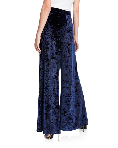 Likely Jasmine Wide-Leg Velvet Pants