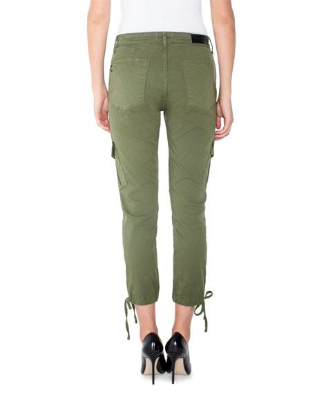 Parker Smith Chloe Cropped Skinny Cargo Pants