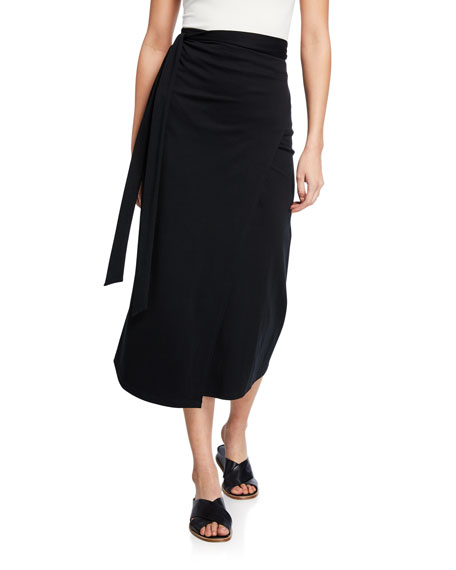 Midi Wrap Skirt by Vince