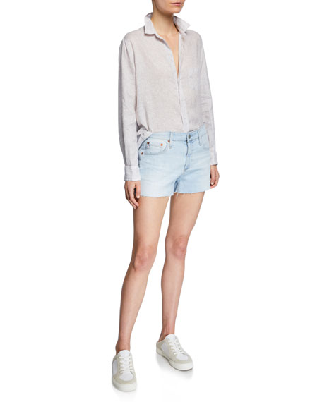 AG Bryn Ex-Boyfriend Denim Cutoff Shorts