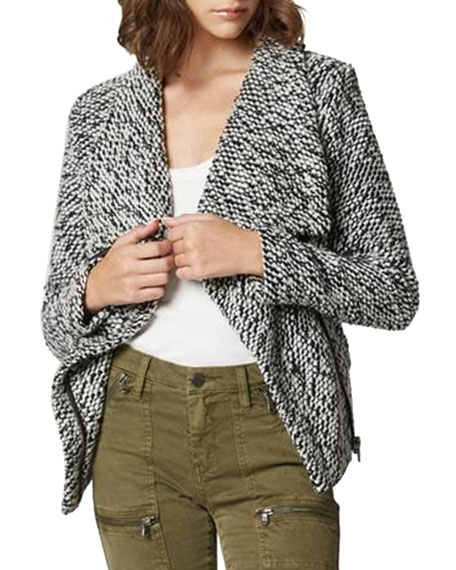 Blank NYC Boucle Knit Wool-Blend Jacket