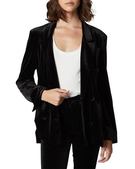 Blank NYC The Grand Dame Velvet Blazer Jacket
