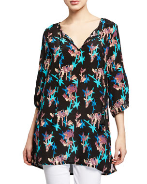 a44dee46dcd Women's Designer Tops on Sale at Neiman Marcus