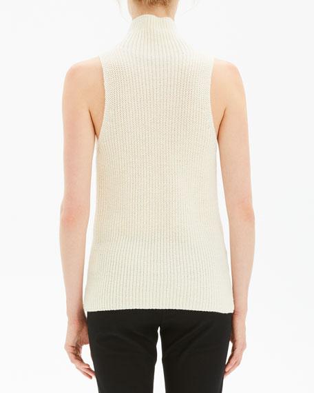 Theory | Deep V-Neck Ribbed Knit Sweater | Ribbed sweater