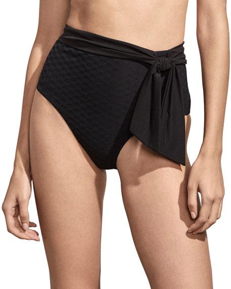 Amaio Swim Sabine Sash-Tie Bikini Bottom