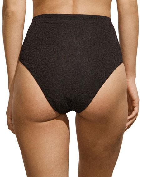 Amaio Jolie High-Waist Bikini Bottoms