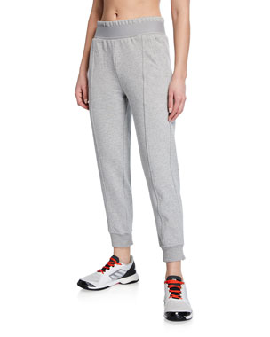 f5373f5f1 adidas by Stella McCartney Performance Essentials High-Waist Sweatpants