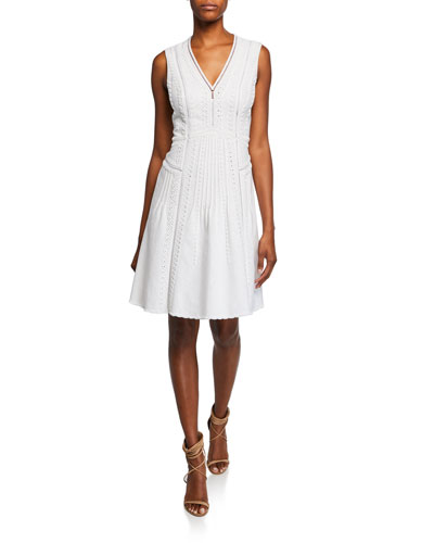Mimi V-Neck Sleeveless Dress