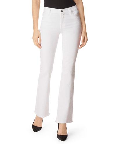 Sallie Mid-Rise Boot-Cut Jeans