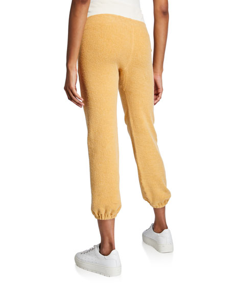 The Great The Warm Up Drawstring Ankle Sweatpants