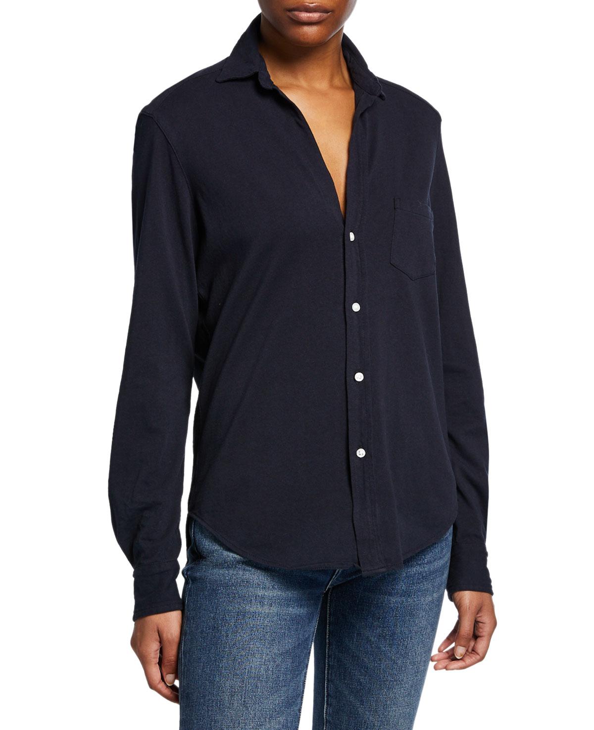 Frank & Eileen Tee Lab Button-Down Long-Sleeve Cotton Shirt