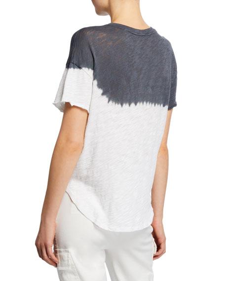 ATM Anthony Thomas Melillo Dip Dye Short-Sleeve Slub Jersey T-Shirt