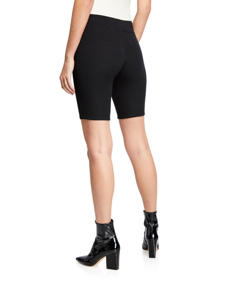 ATM Anthony Thomas Melillo Micro Modal Ribbed Bike Shorts
