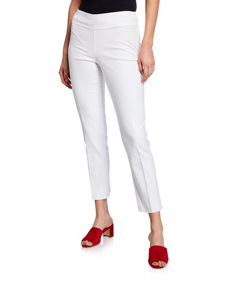 NIC+ZOE Perfect Pant Straight-Leg Slim Ankle Pants