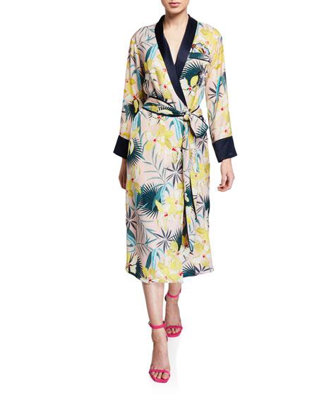 Le Superbe Desmond Tie-Front Robe Dress