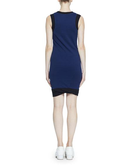 Proenza Schouler PSWL Double-Layer Fine Rib Jersey Tank Dress