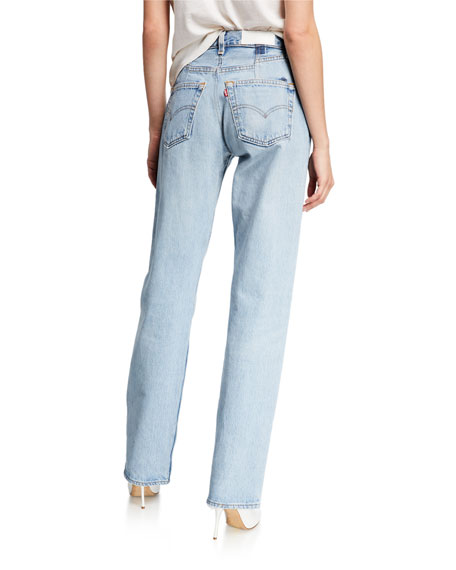 RE/DONE 90s Straight-Leg Jeans