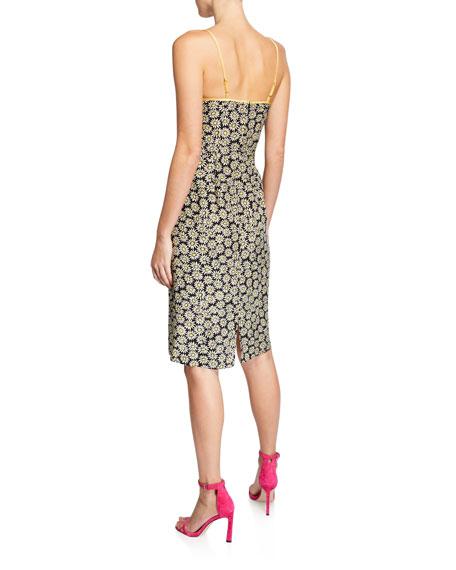 HVN Susan Round-Neck Slip Dress