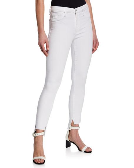 Black Orchid Miranda Step-Hem High-Rise Skinny Jeans