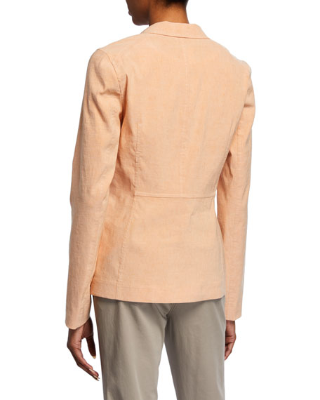 Lafayette 148 New York Lyndon Tempra Linen-Blend Jacket