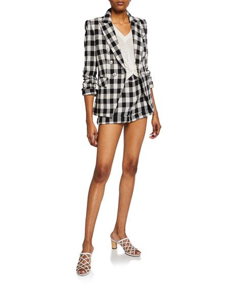 Veronica Beard Miller Dickey Checker Jacket