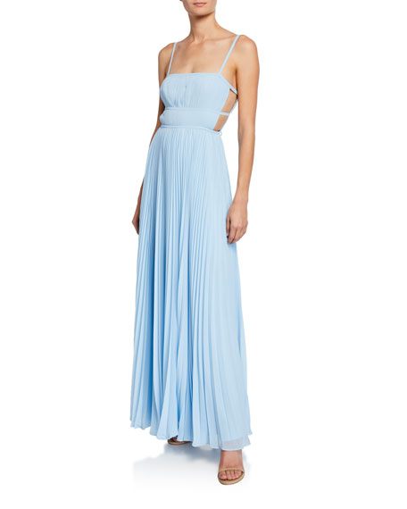 Fame and Partners The Erina Sleeveless Tie-Back Dress with Cutouts