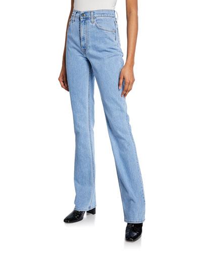 Femme Hi Boot-Cut Jeans