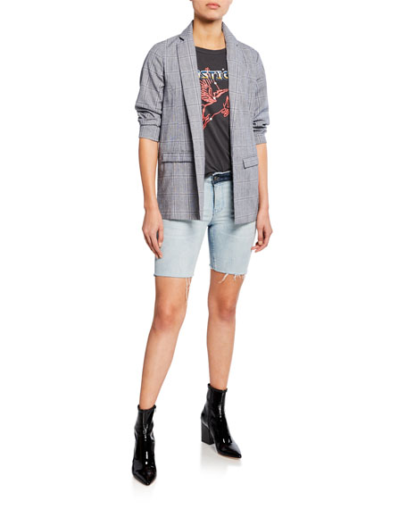 RtA Toure Cutoff Denim Shorts