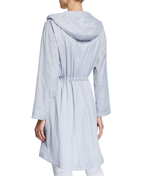 Eileen Fisher Petite Long Hooded Jacket